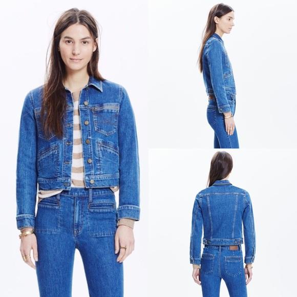 Madewell x Daryl K Jeff Denim Jean Jacket Size XS